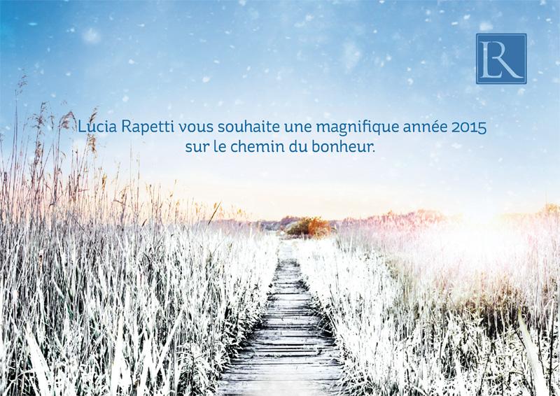 Voeux Lucia Rapetti 2015